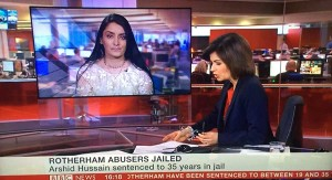 Aneeta Prem Commenting on BBC News Rotherham CSE