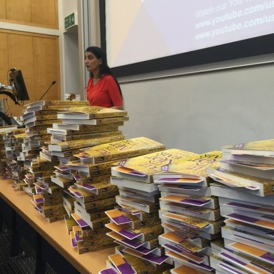 Aneeta Prem Donating books