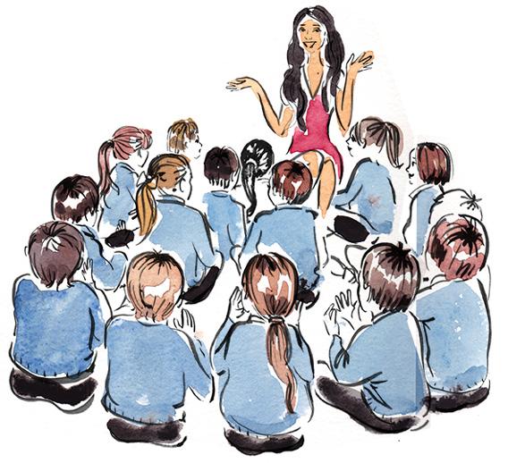 Aneeta Prem talks on forced marriage at school
