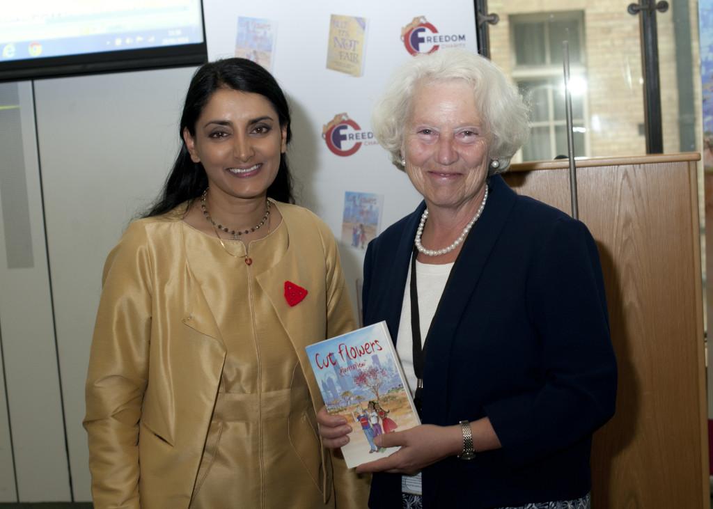 Aneeta Prem, Baroness Hayman Cut Flowers Book launch, House of Commons