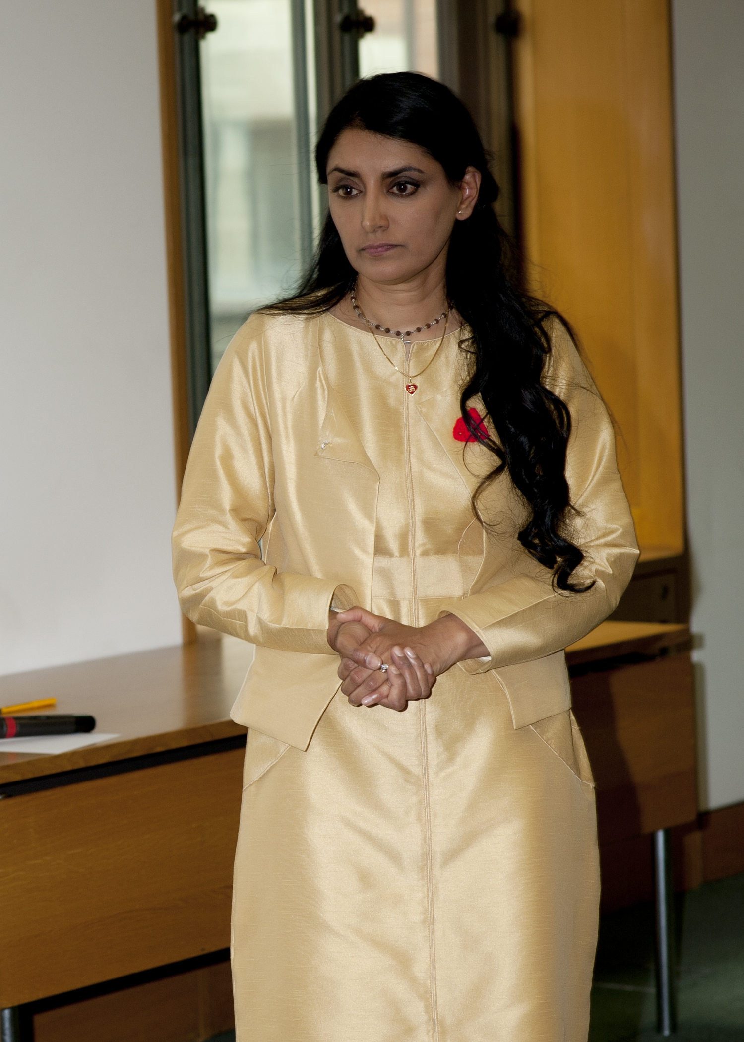 Aneeta Prem, House of Commons , Cut Flowers Book Launch