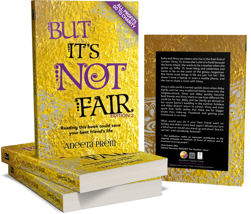 Aneeta Prem is the author of But It's Not Fair. Her books have been donated to children in schools and so far she has donated tens of thousands of books to children in the UK and beyond