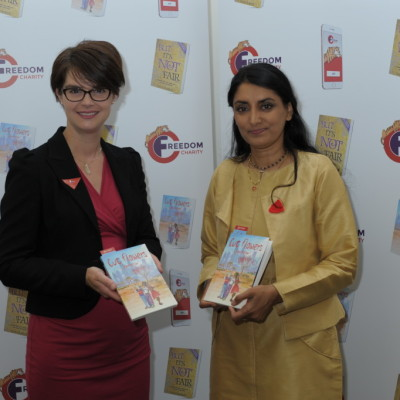Chloe Smith and Aneeta Prem