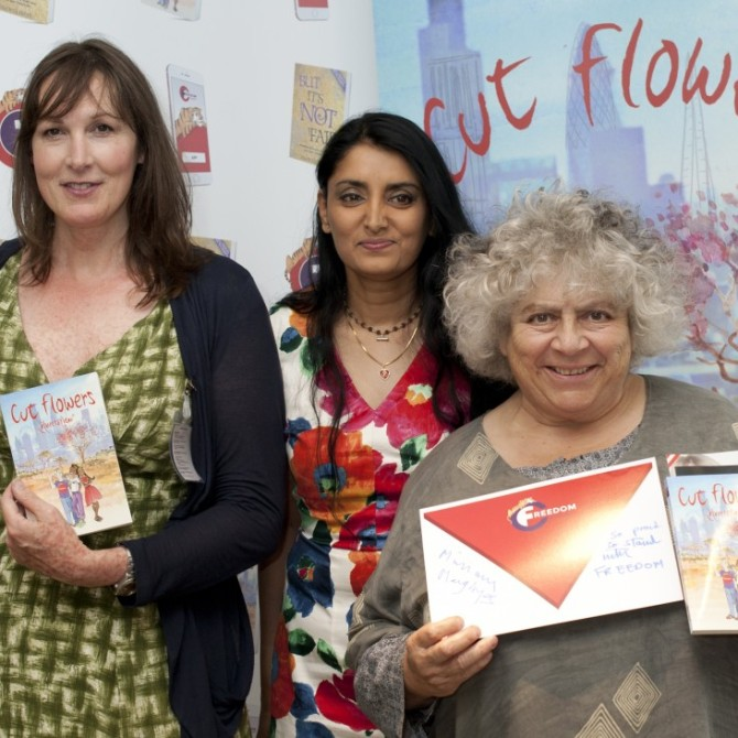 Cut Flowers, FGM, Book Launch, Female gentile mutilation aneeta prem