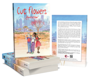 Aneeta  Prem's second novel Cut Flowers, tackles the subject of FGM. The two main characters Vinny and Sophia from But It's Not Fair are featured in Cut Flowers.